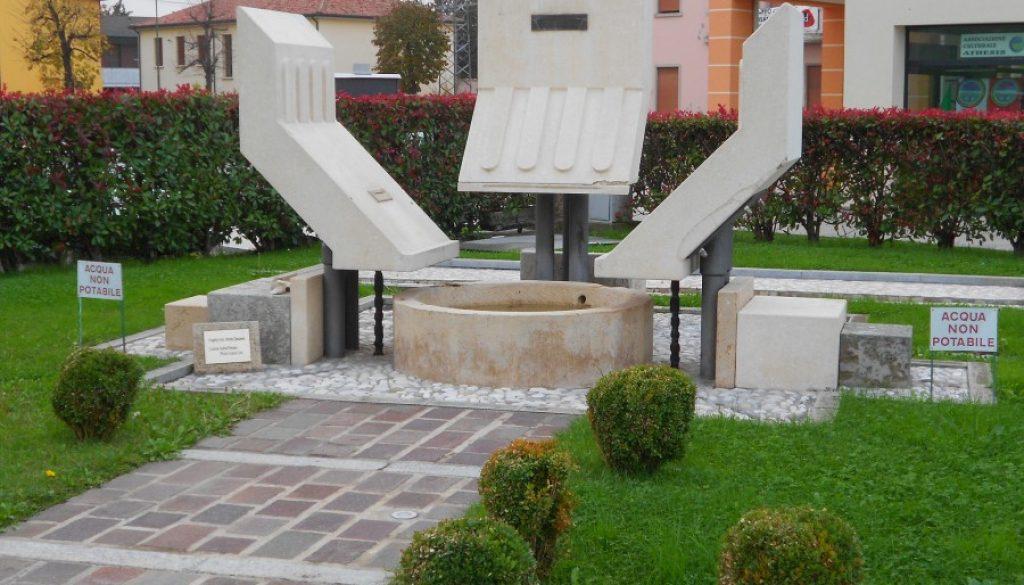 monumento al donatore, Boara Pisani, Padova