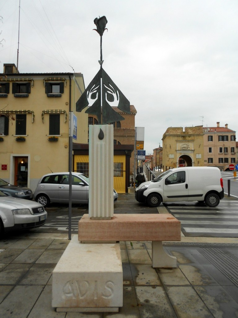 monumento al donatore, Chioggia, Venezia