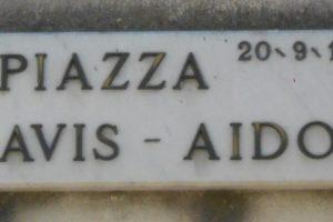 piazza AVIS - AIDO, Gavello