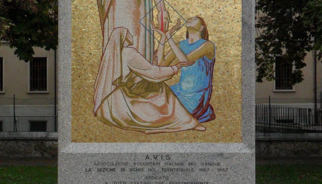 monumento ai donatori di sangue Schio Vicenza