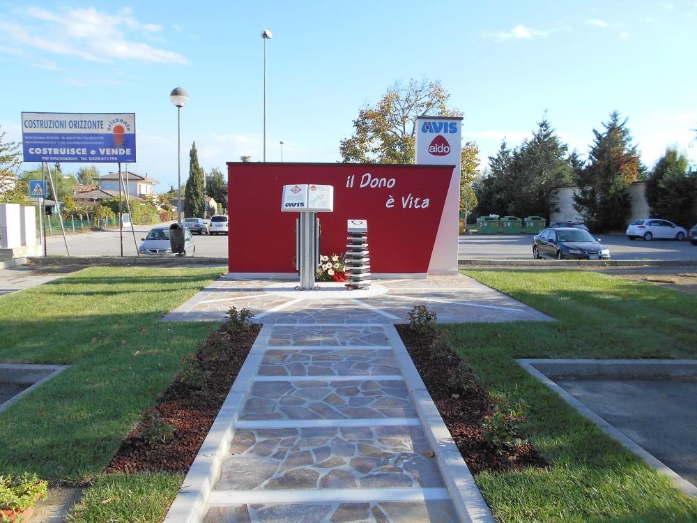 monumento al donatore, Boara Polesine