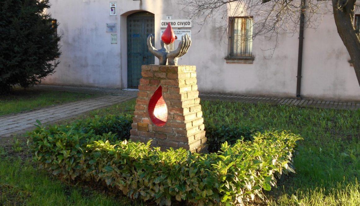 monumento ai donatori di sangue, Ro Ferrarese