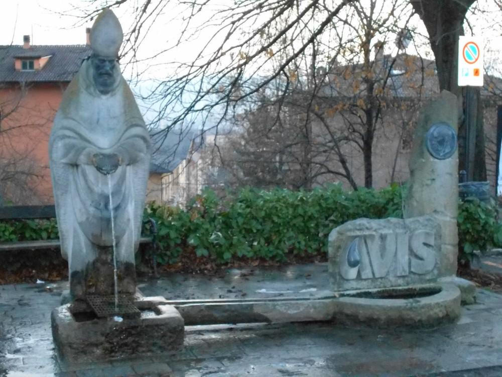 fontana e monumento AVIS, Monteobizzo, Pavullo