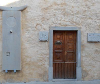 sede AVIS e AIDO scultura Fanano