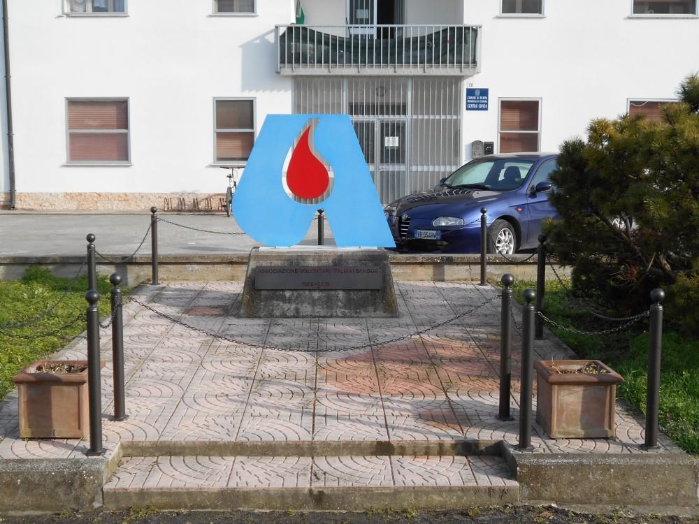 monumento, AVIS, Cologna, Berra