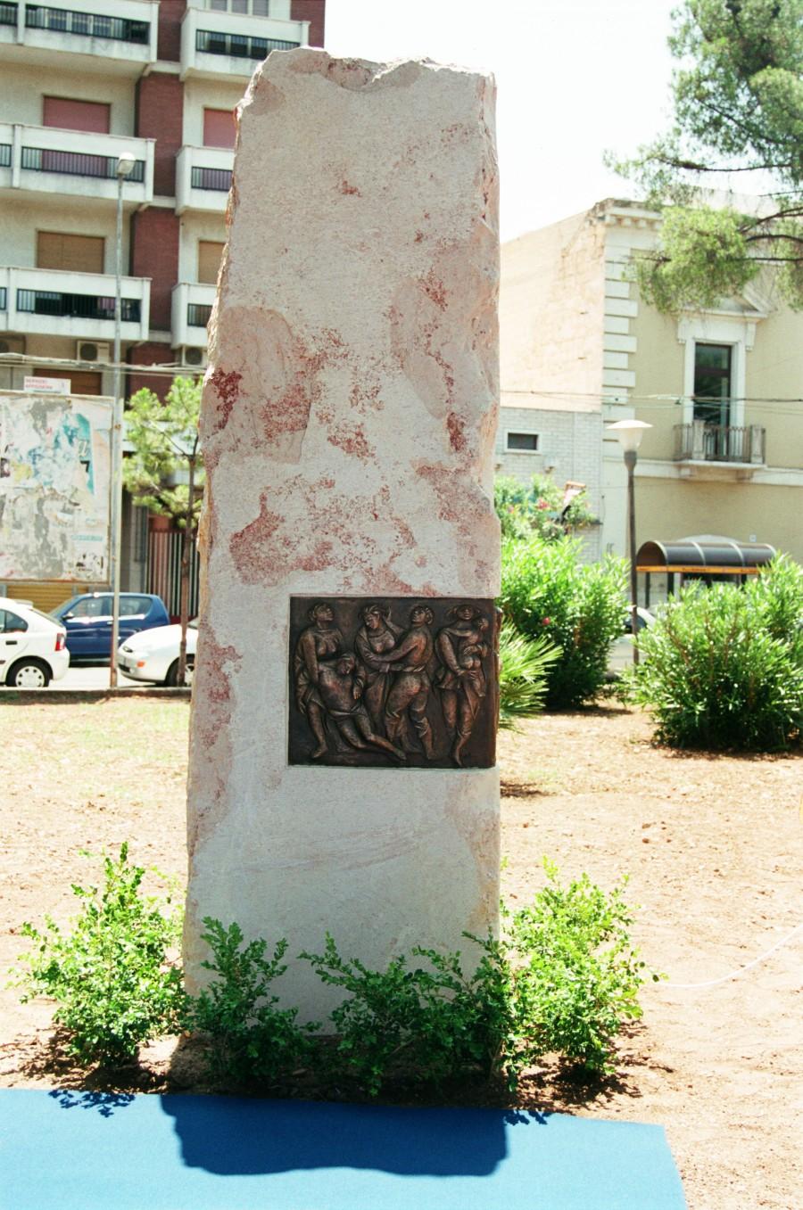 Monumento Al Volontariato e alla Solidarietà Fidas – Fpds, Bari