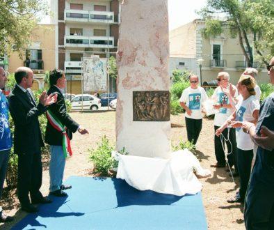 inaugurazione, Monumento Al Volontariato e alla Solidarietà Fidas – Fpds, Bari