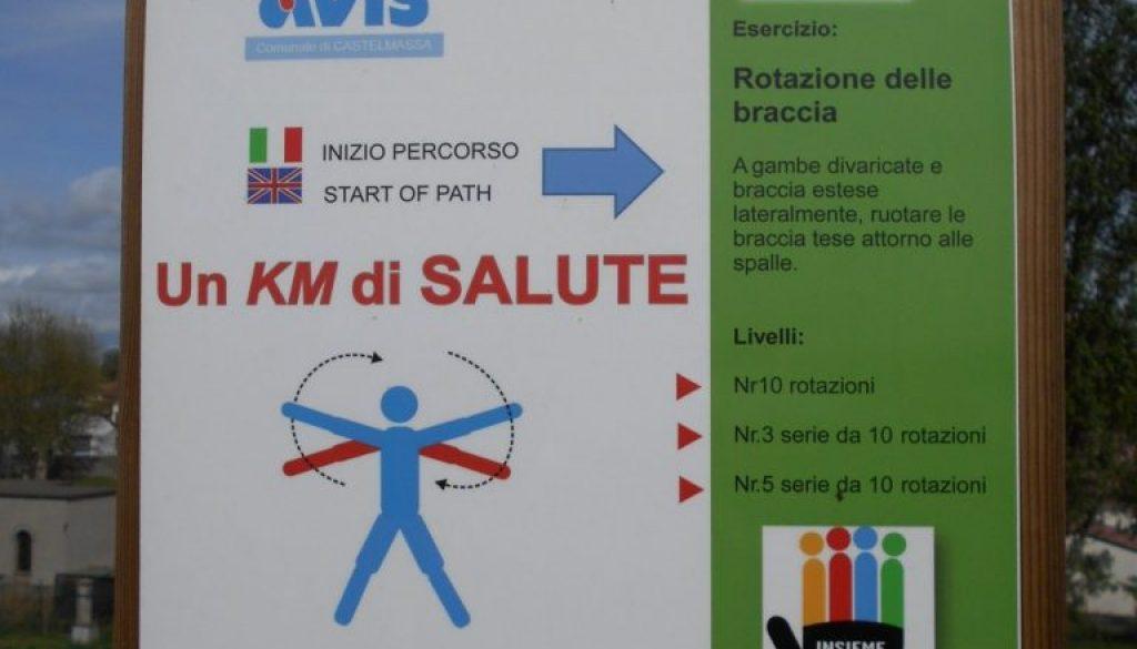 AVIS, un km di salute, Castelmassa