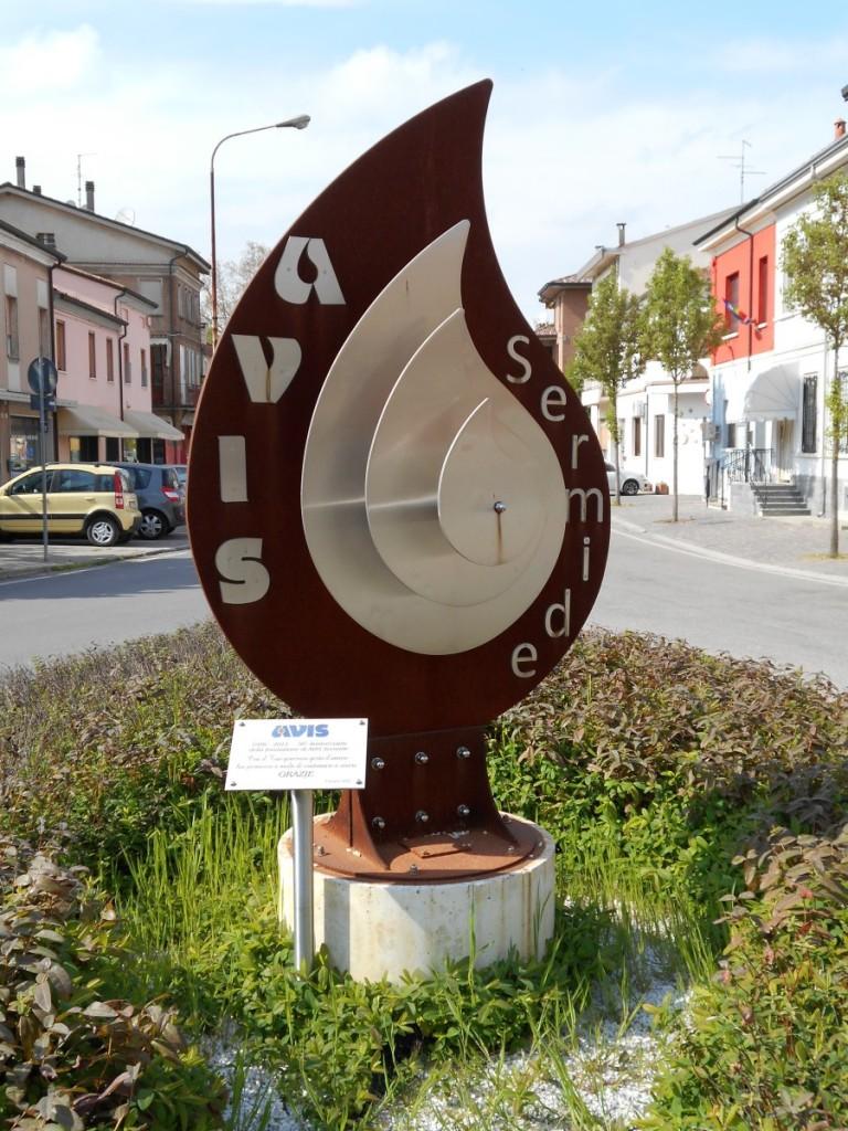 monumento AVIS, Sermide
