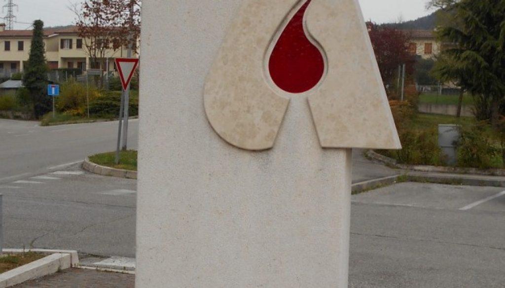 monumento al donatore di sangue, AVIS, Maser