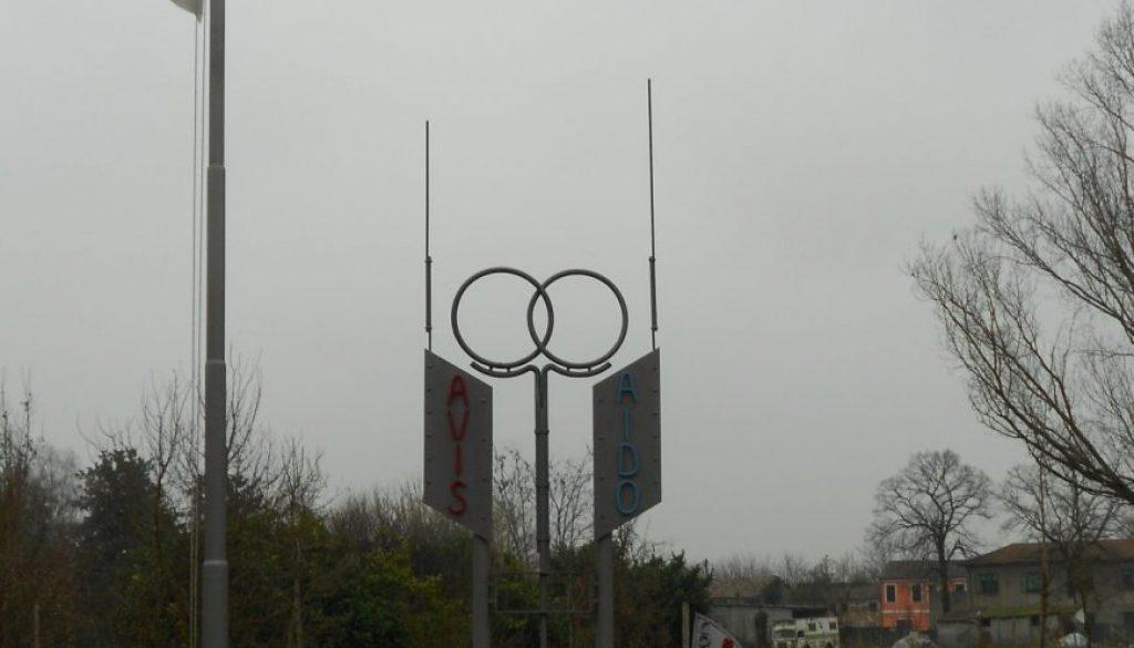 monumento al donatore AVIS e AIDO, Concadirame, Rovigo