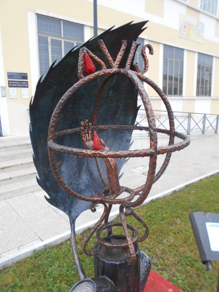 dettaglio, monumento AVIS, Vigonza