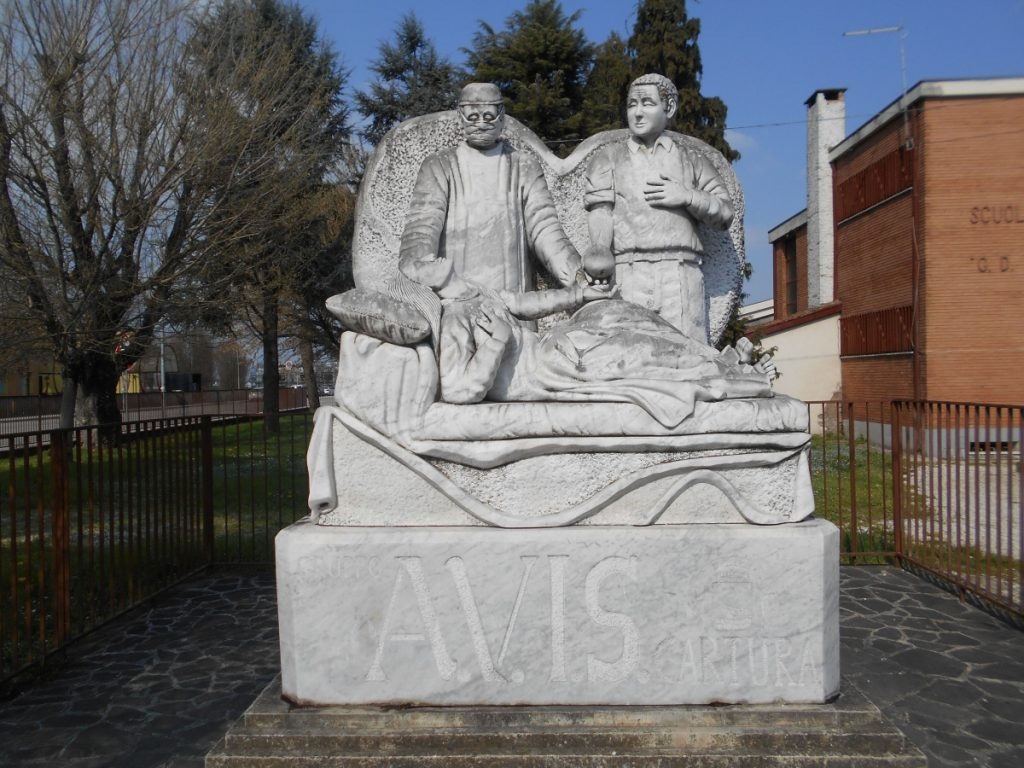 monumento AVIS, Cartura
