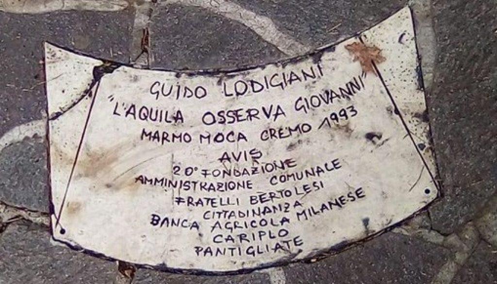 targa, monumento AVIS, Pantigliate, Milano, Guido Lodigiani