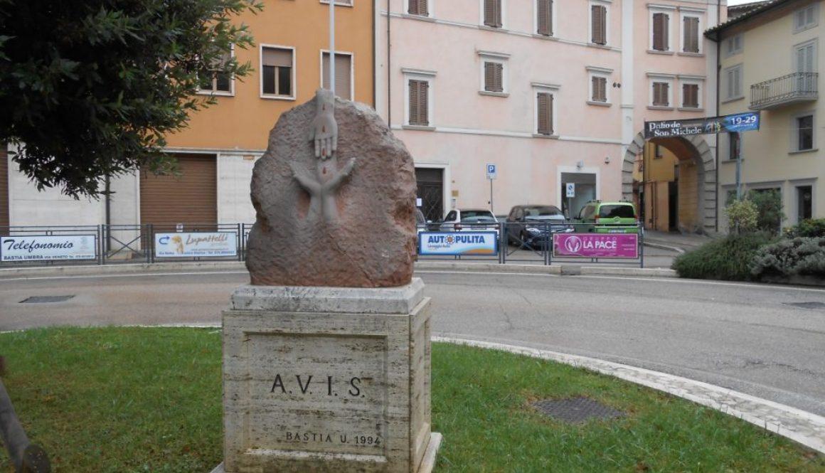 monumento AVIS, Bastia Umbra. Perugia