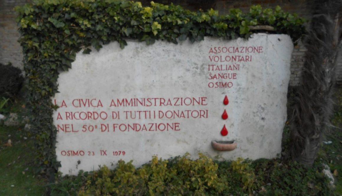 monumento AVIS, Osimo
