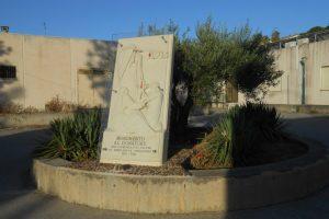 monumento al donatore, AVIS, Salemi