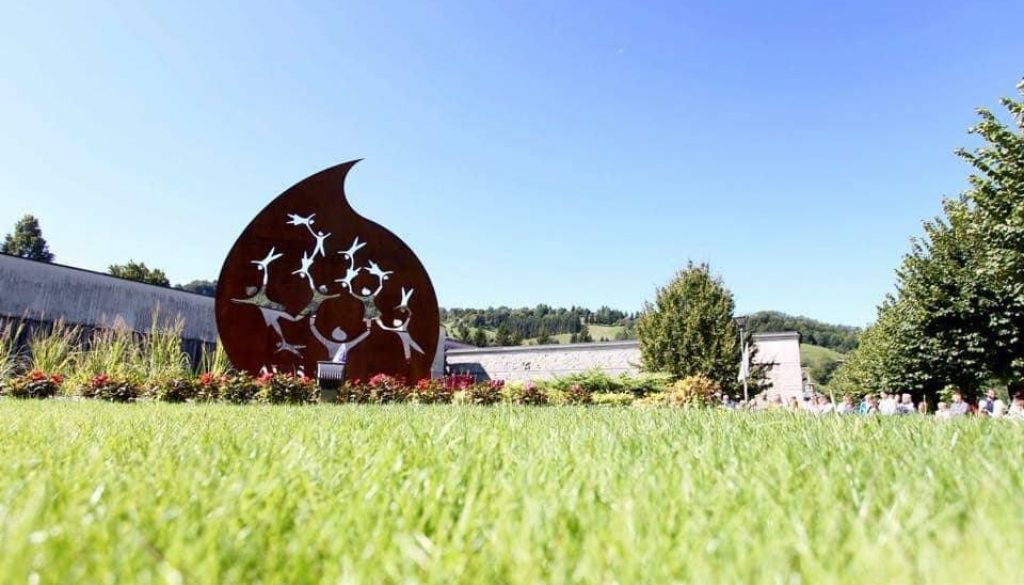 monumento AVIS AIDO, Leffe