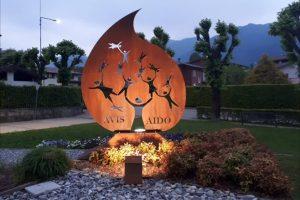 monumento AVIS AIDO, Leffe, Bergamo