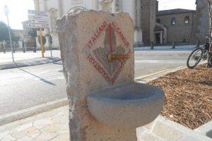 fontanella monumento AVIS, chiesa, Villa Estense