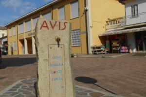 fontanella monumento AVIS, comune, Villa Estense
